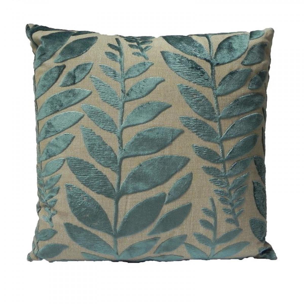 Almofada Folhas Verde Quadrada - Designers Guild