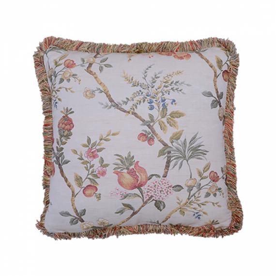 Almofada Quadrada Francesa Floral