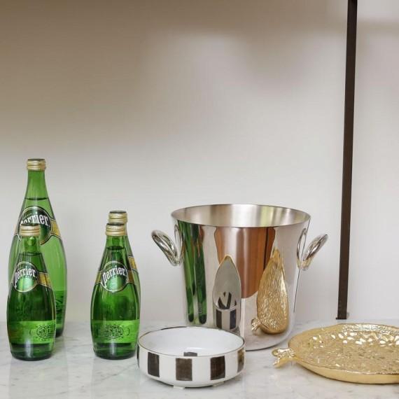 Balde Champagne Vertigo Christofle Prata