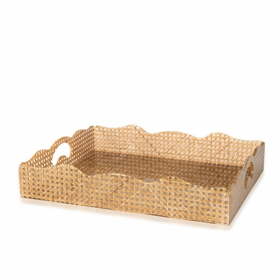 Bandeja Origami Rattan G