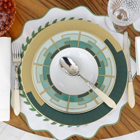Conjunto Pratos Fundos Emerald Vista Alegre 2 peças