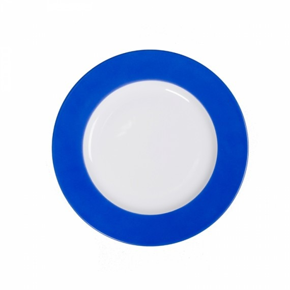 Prato Raso Limoges Azul Cobalto