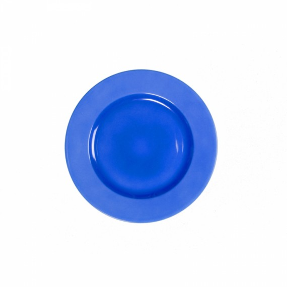 Prato Sobremesa Azul Cobalto Limoges