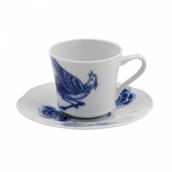 Xícara Café Blue Bird Vista Alegre