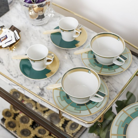 Xícara Chá Emerald Vista Alegre