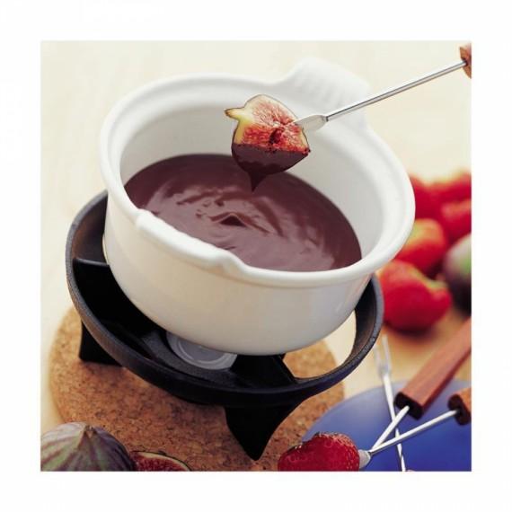 Fondue Chocolate Le Creuset Vermelho