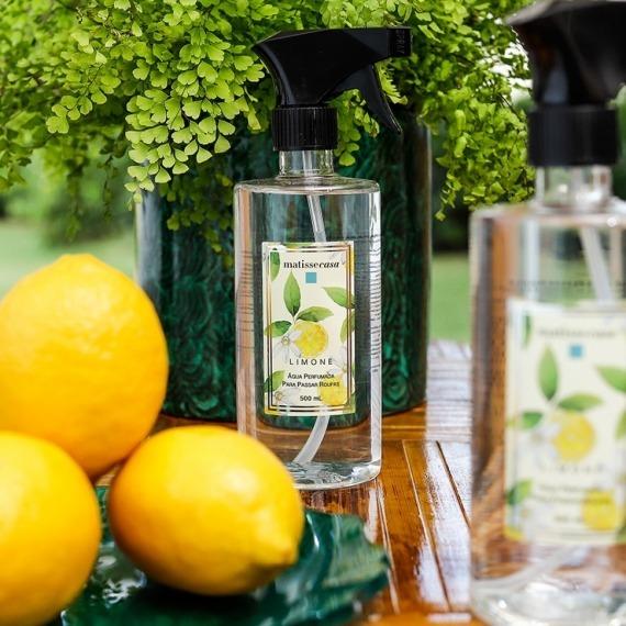Água de Passar Perfumada Limone Matisse Casa