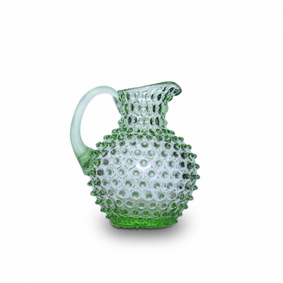 Jarra Abacaxi Cristal Verde 1L