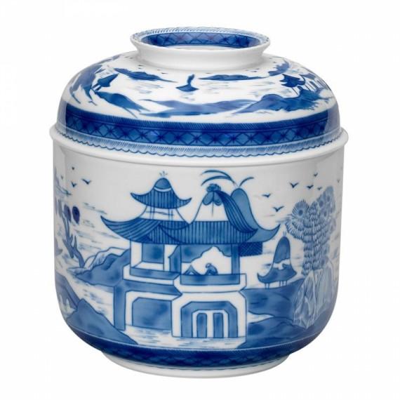 Potiche Chinês Blue Canton Vista Alegre