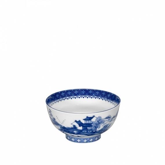 Saladeira Individual Blue Canton Vista Alegre
