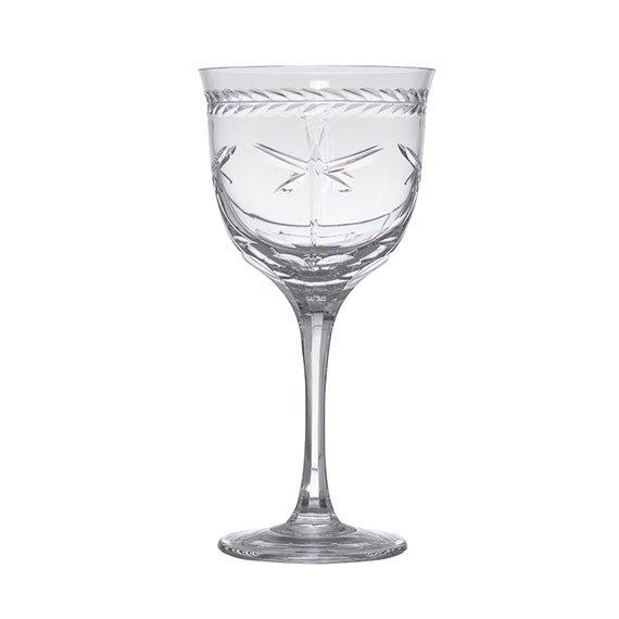 Taça Água Libélula Mozart Cristal