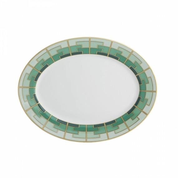 Travessa Oval Emerald Vista Alegre M