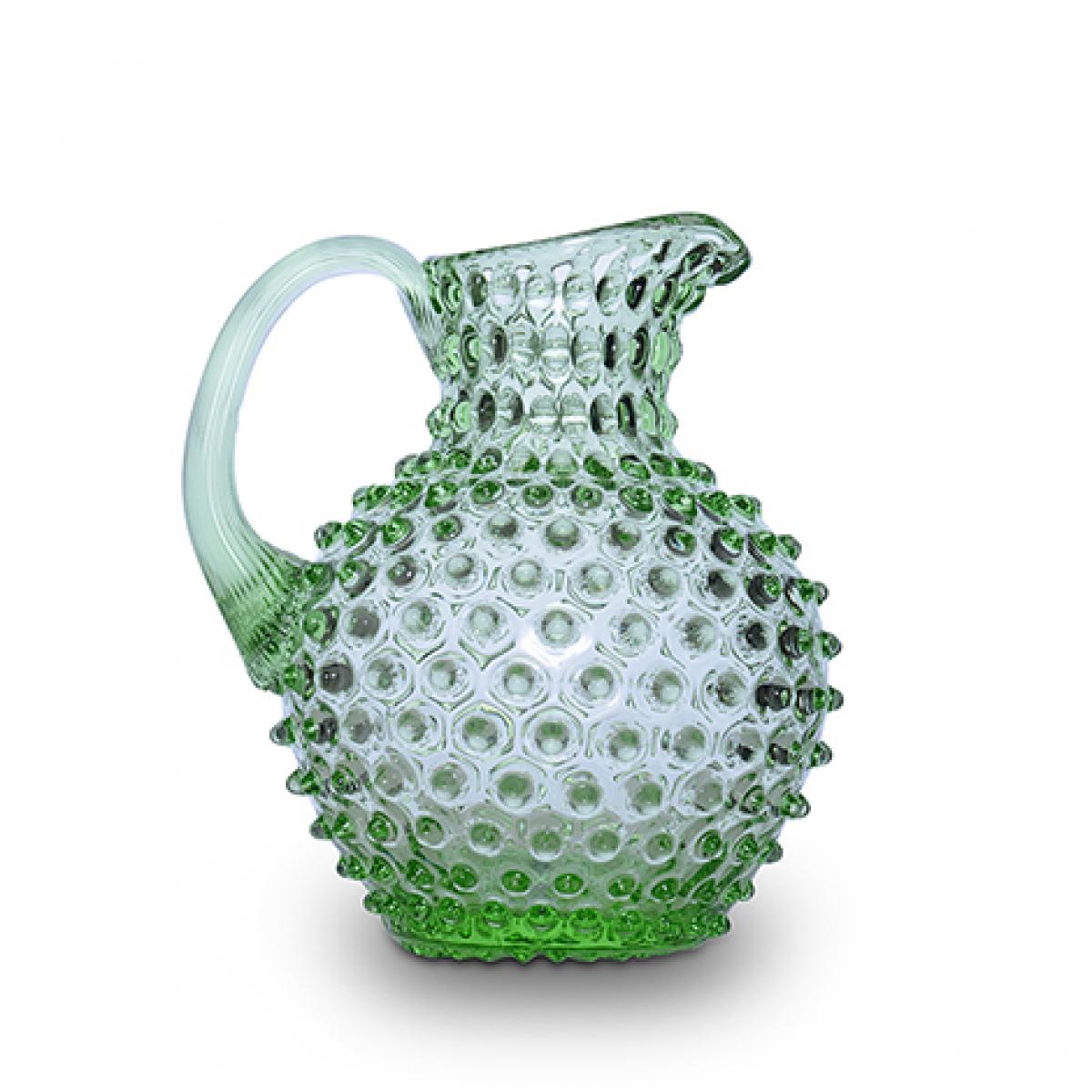 Jarra Abacaxi Cristal Verde 2L