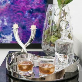 Conjunto Copos Whisky Cluny Christofle 2 peças