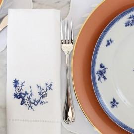 Conjunto Guardanapos Blue Macau 2 peças