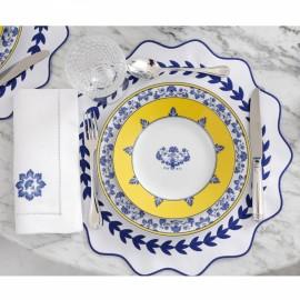 Jogo Americano Guirlanda Azul  2 peças