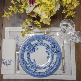 Prato Raso Blue Ming  Vista Alegre