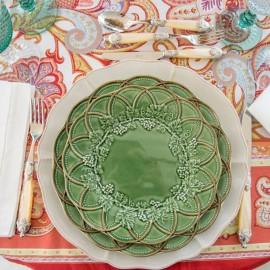 Prato de Sobremesa Hunting Bordallo Pinheiro