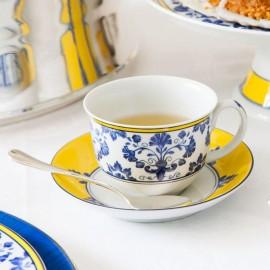 Xícara Chá Castelo Branco Vista Alegre