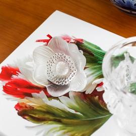 Escultura Anemones Lalique