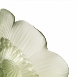 Escultura Anemones Lalique Verde P
