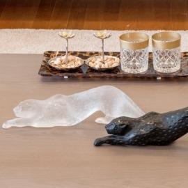 Escultura Pantera Lalique