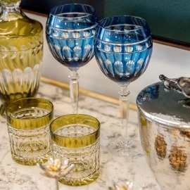 Taça Água Charlotte Aqua Cristal