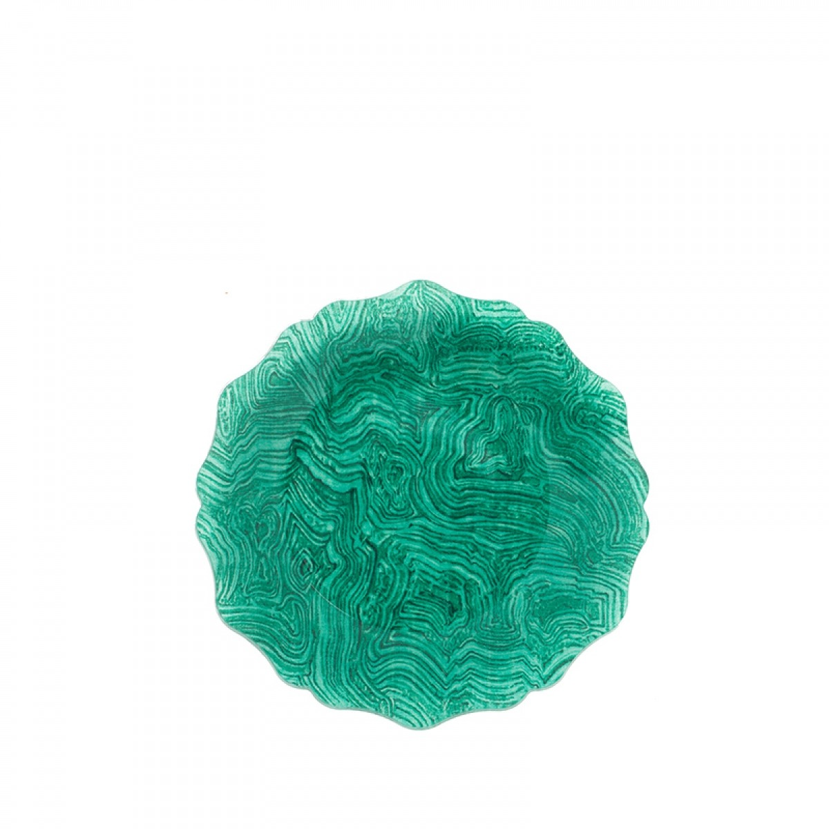 Porta Jarra Malachite Green