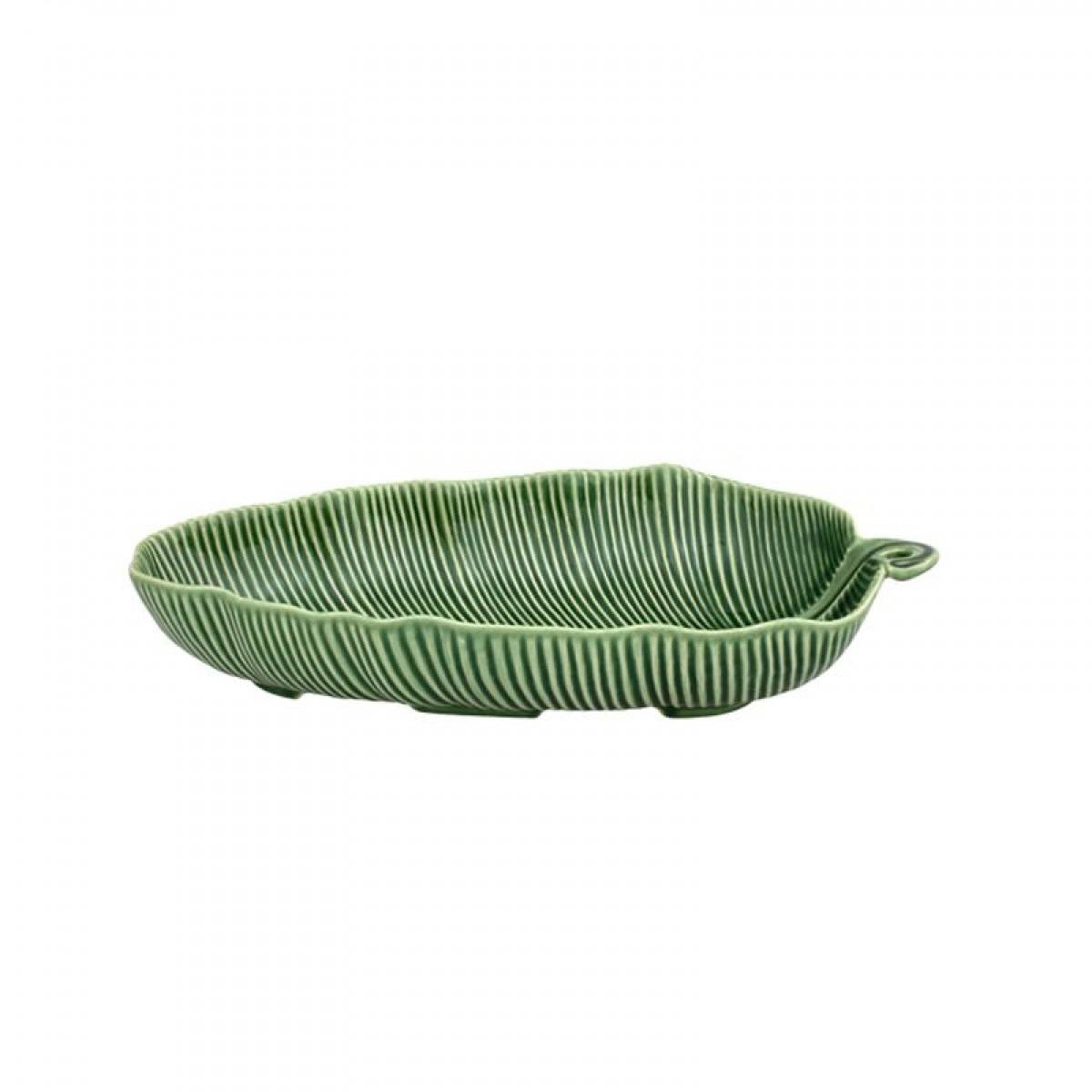 Saladeira Folha de Bananeira Bordallo Pinheiro Verde M